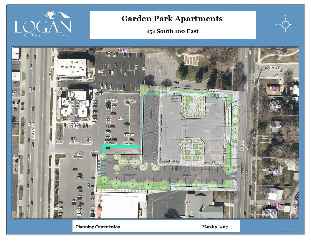 120 unit apartment complex moving forward fueling conversations about the future of logan - Garden Park Apartments