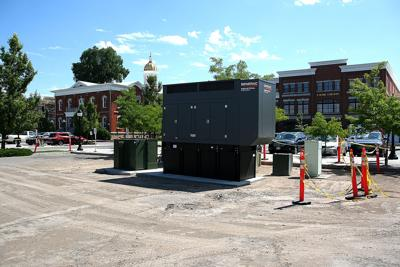 County shutting off power on Main Street block to install