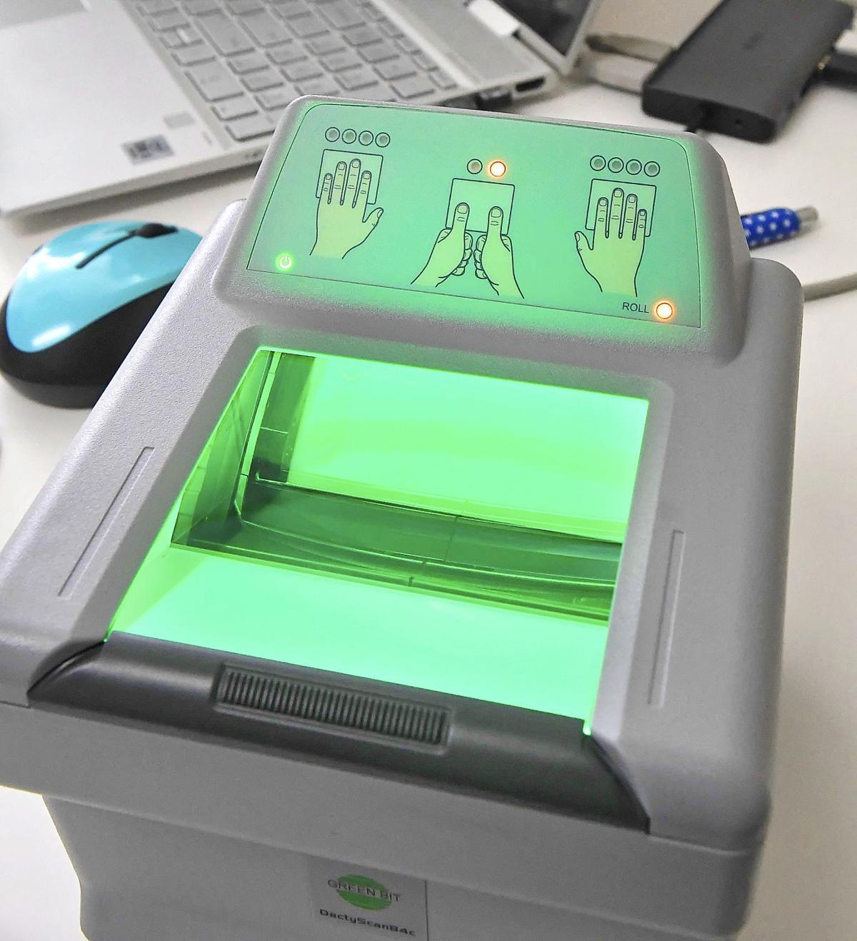 yup fingerprinting SECONDARY