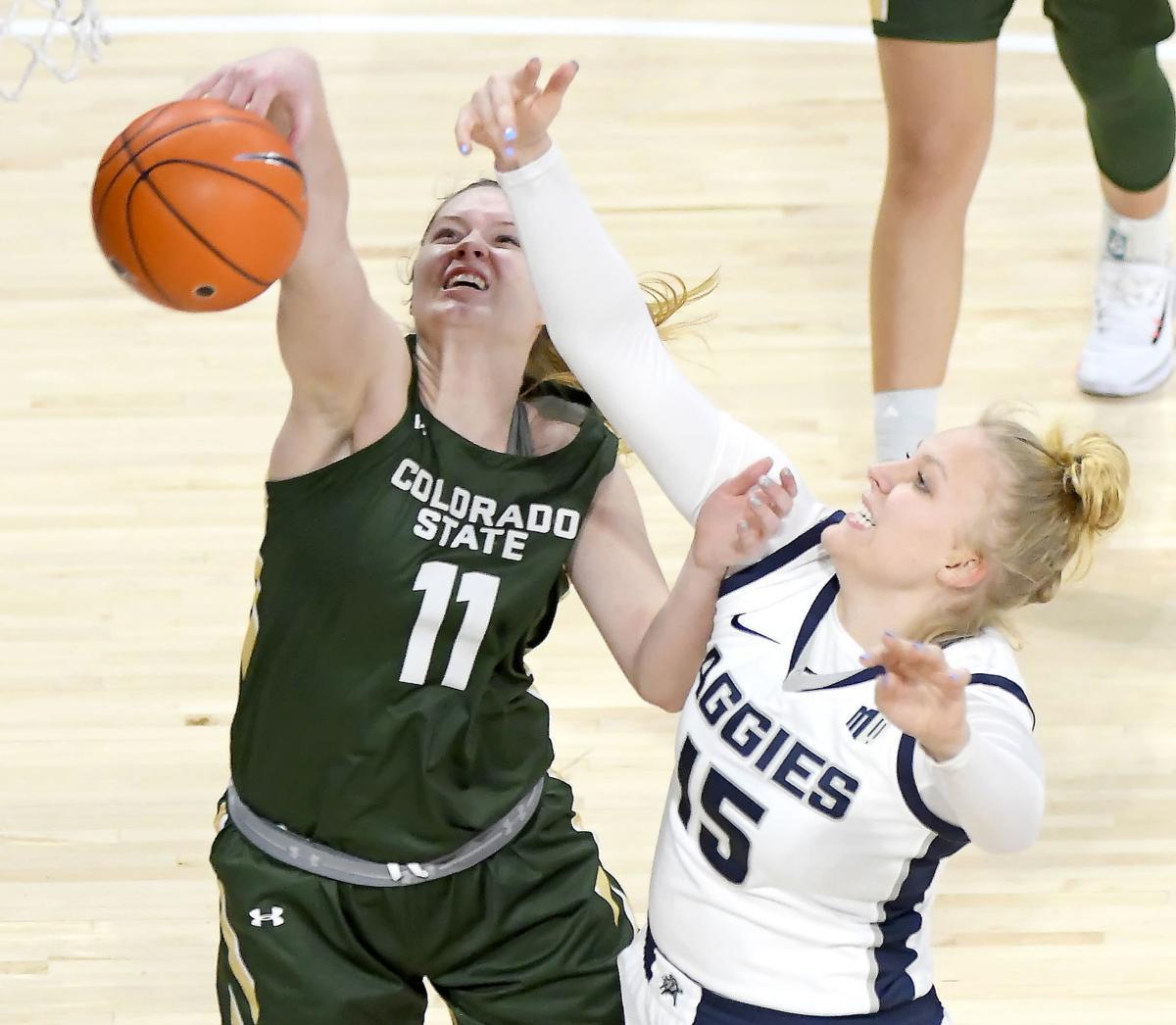 Utah State Colorado State Basketball SECONDARY