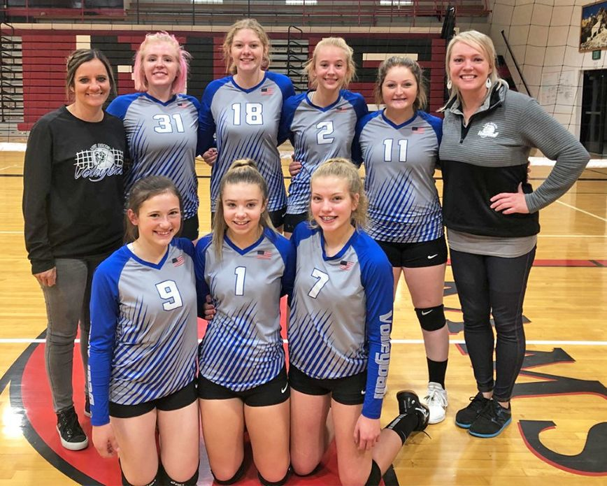 Bear Lake Volleyball C Team went to the Highland tournament.