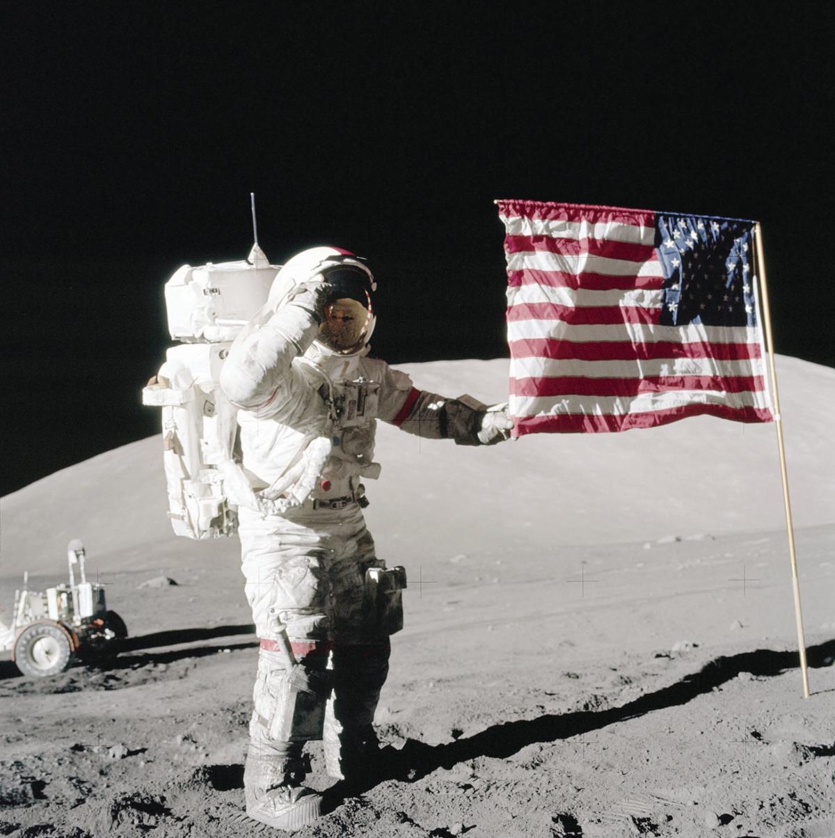 Flag Apollo 17
