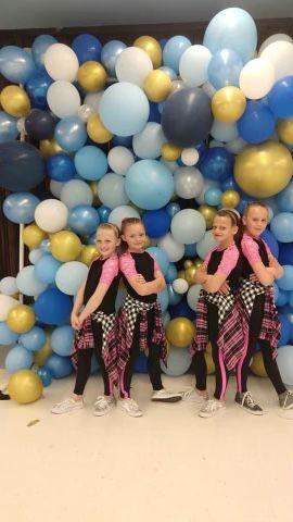Dance Group Competes