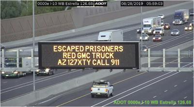 After daring Utah escape, murder suspects may be in Arizona