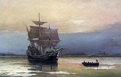 Mayflower painting