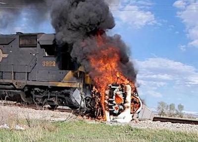 Train-Truck Crash