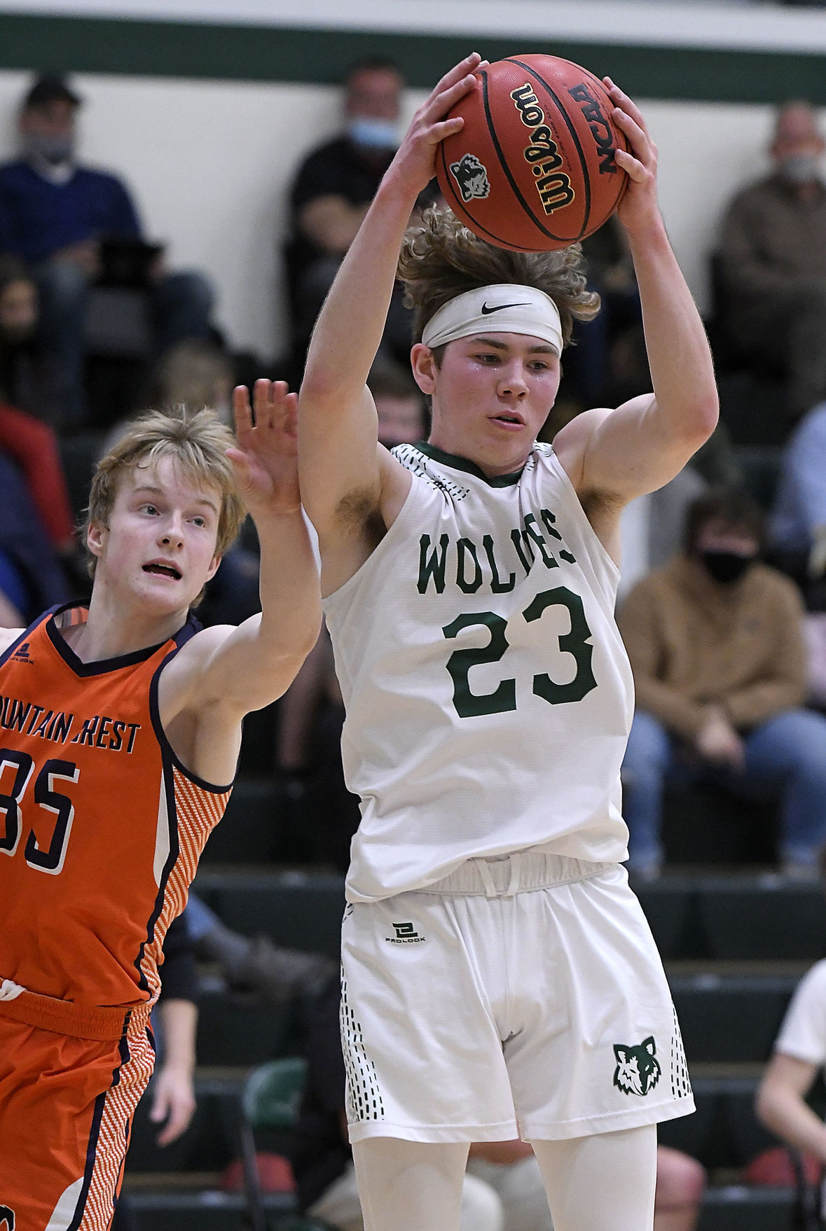 Green Canyon Mountain Crest Basketball
