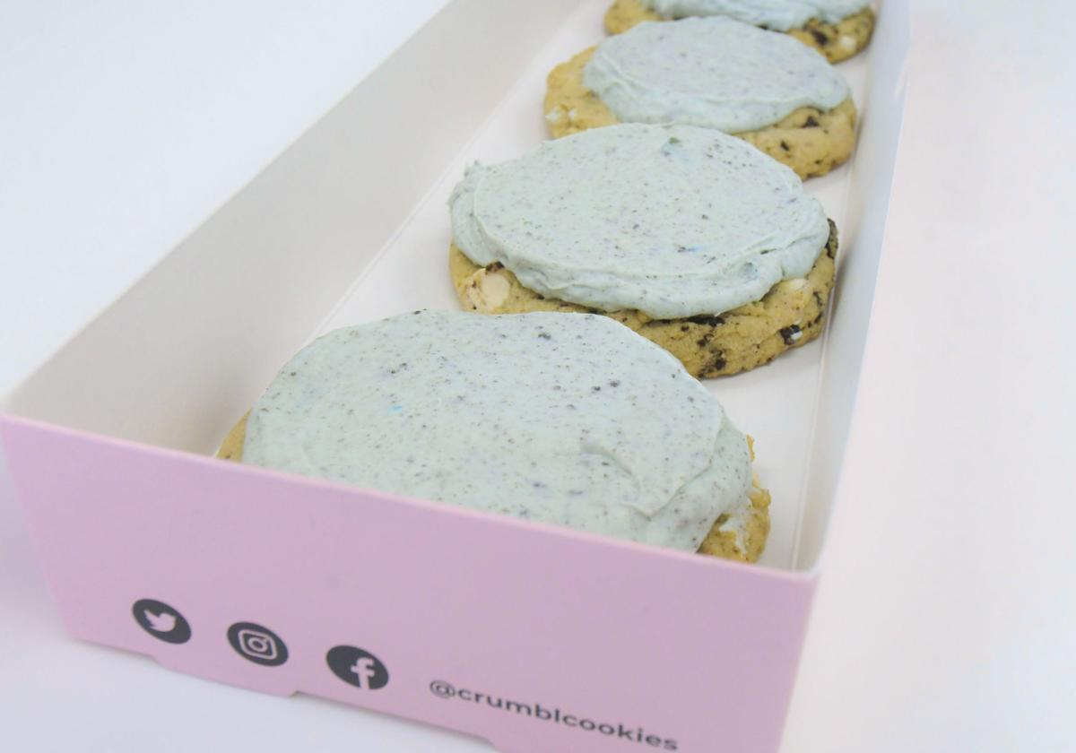 Crumbl sells 'Aggie Blue Mint' flavor nationwide with USU's blessing
