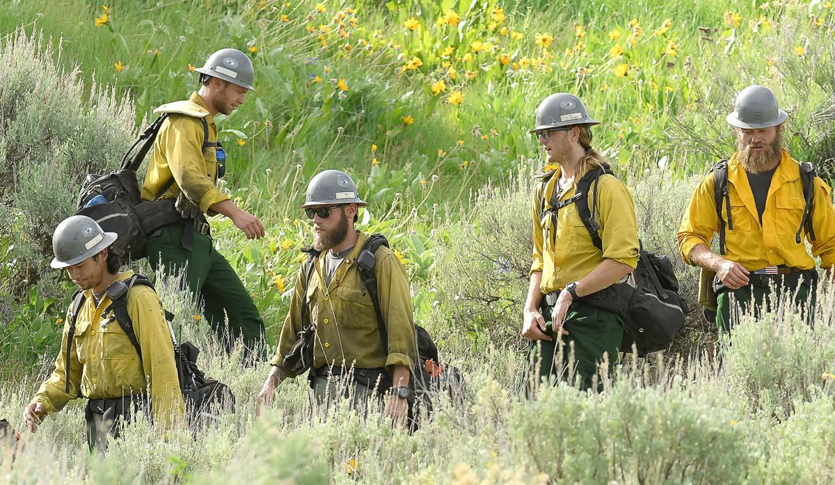 Firefighter distancing: Logan's elite Hotshots crew takes virus precautions