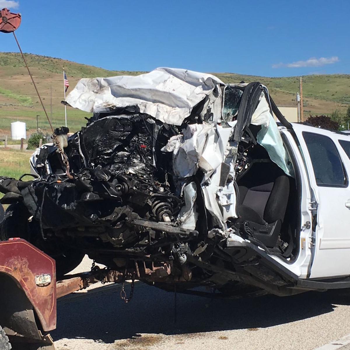 Three dead in head-on crash in Southeastern Idaho on Sunday
