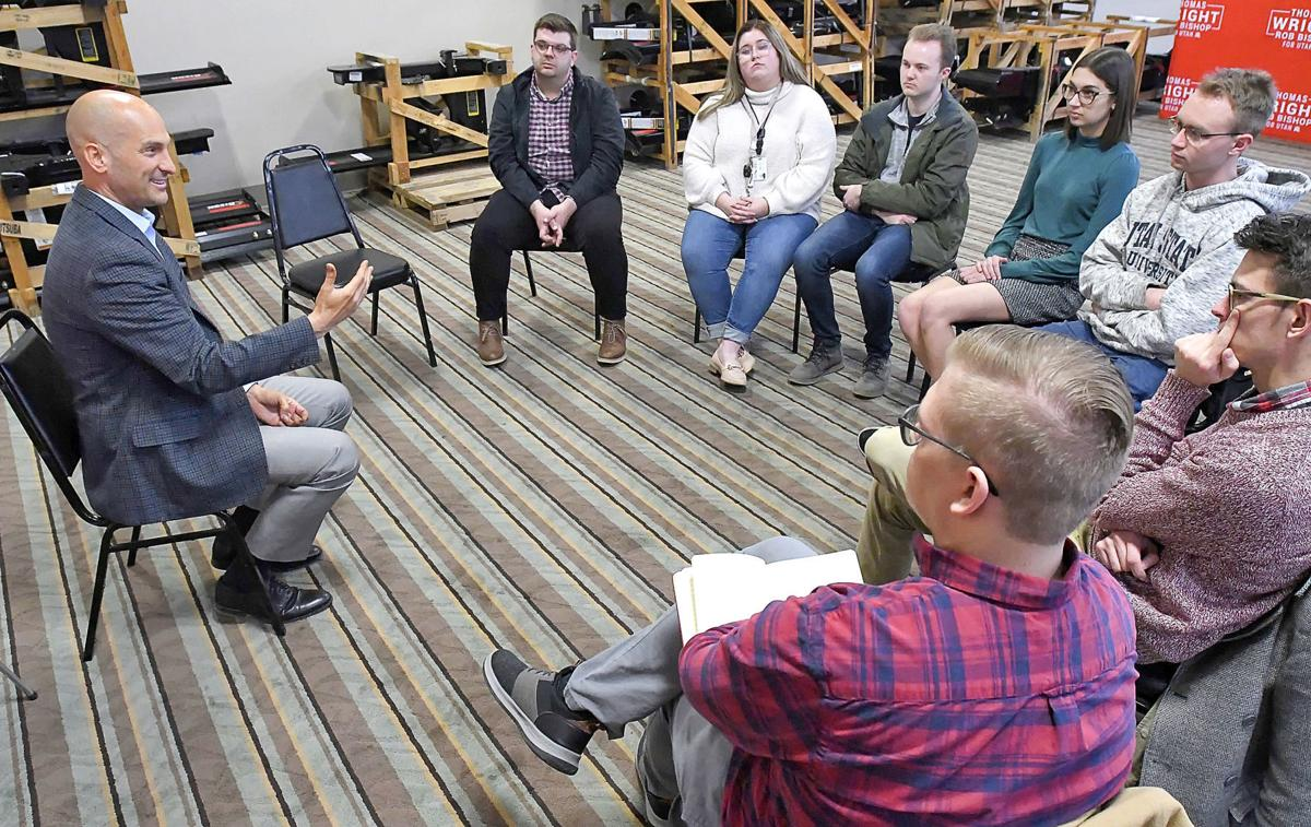 Q&A: Utah gov. candidate Wright visits Cache Valley, talks issues