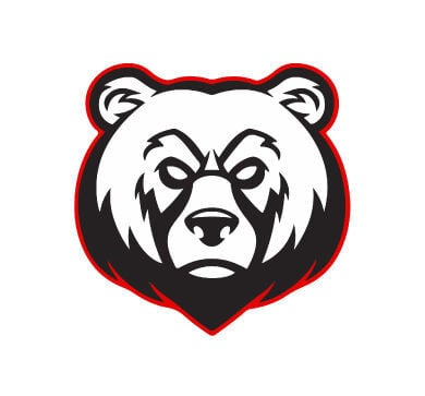 BRHS bear head logo