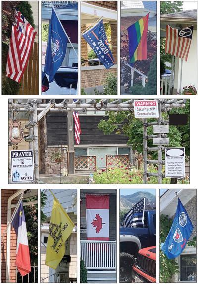 Flag montage