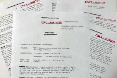 Trump Intelligence Whistleblower Memo