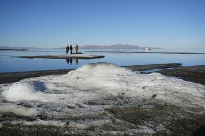 Great Salt Lake Rare Formations