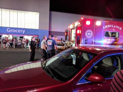 shots fired in walmart parking lot send man to hospital local news