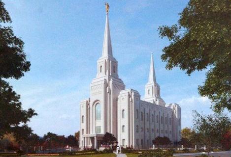 Brigham temple