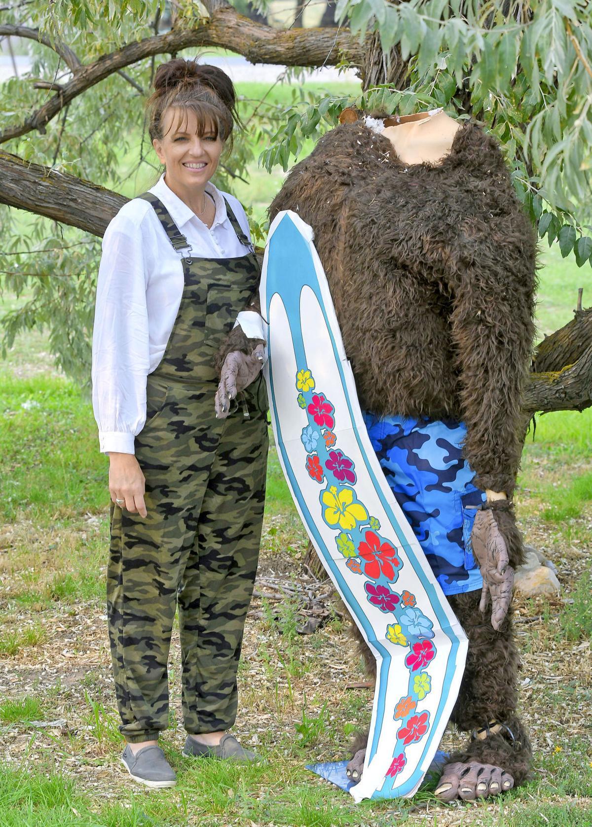Big feet, no head: Community raises funds for Benson family's decapitated Sasquatch