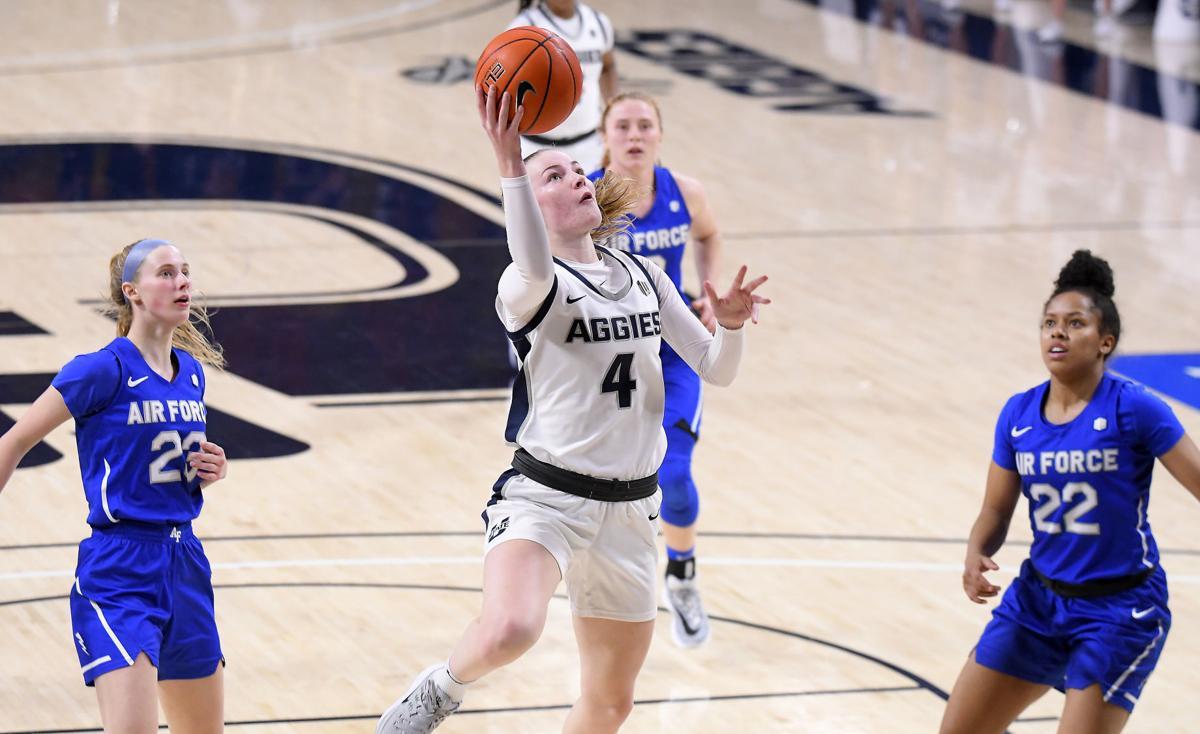Utah St Air Force Basketball