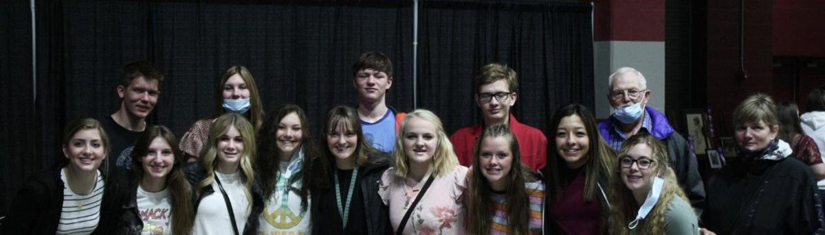 Cokeville Students attend State Art
