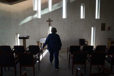Virus Outbreak Hospital Chaplains