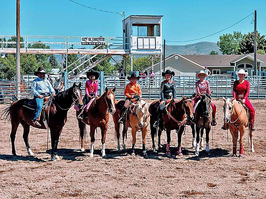 Cokeville Stock & Saddle Club Queen and Princess Contest