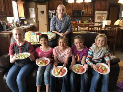 Cooking club meets to make Spring Cookies