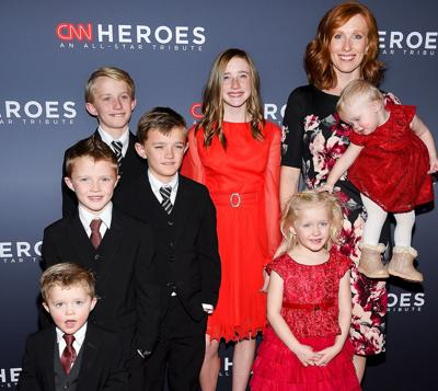 Jennie Taylor and family