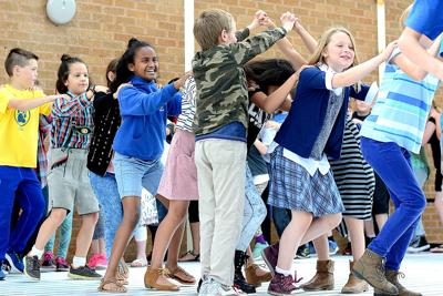 small world hillcrest elementary celebrates different cultures with