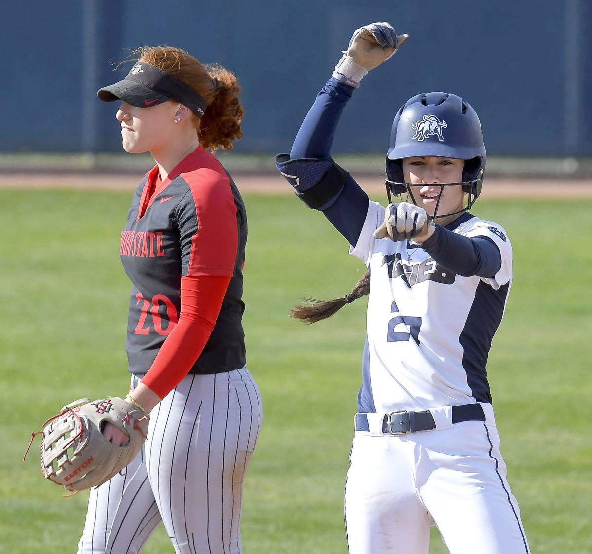 Plogger sparkled for USU's softball program