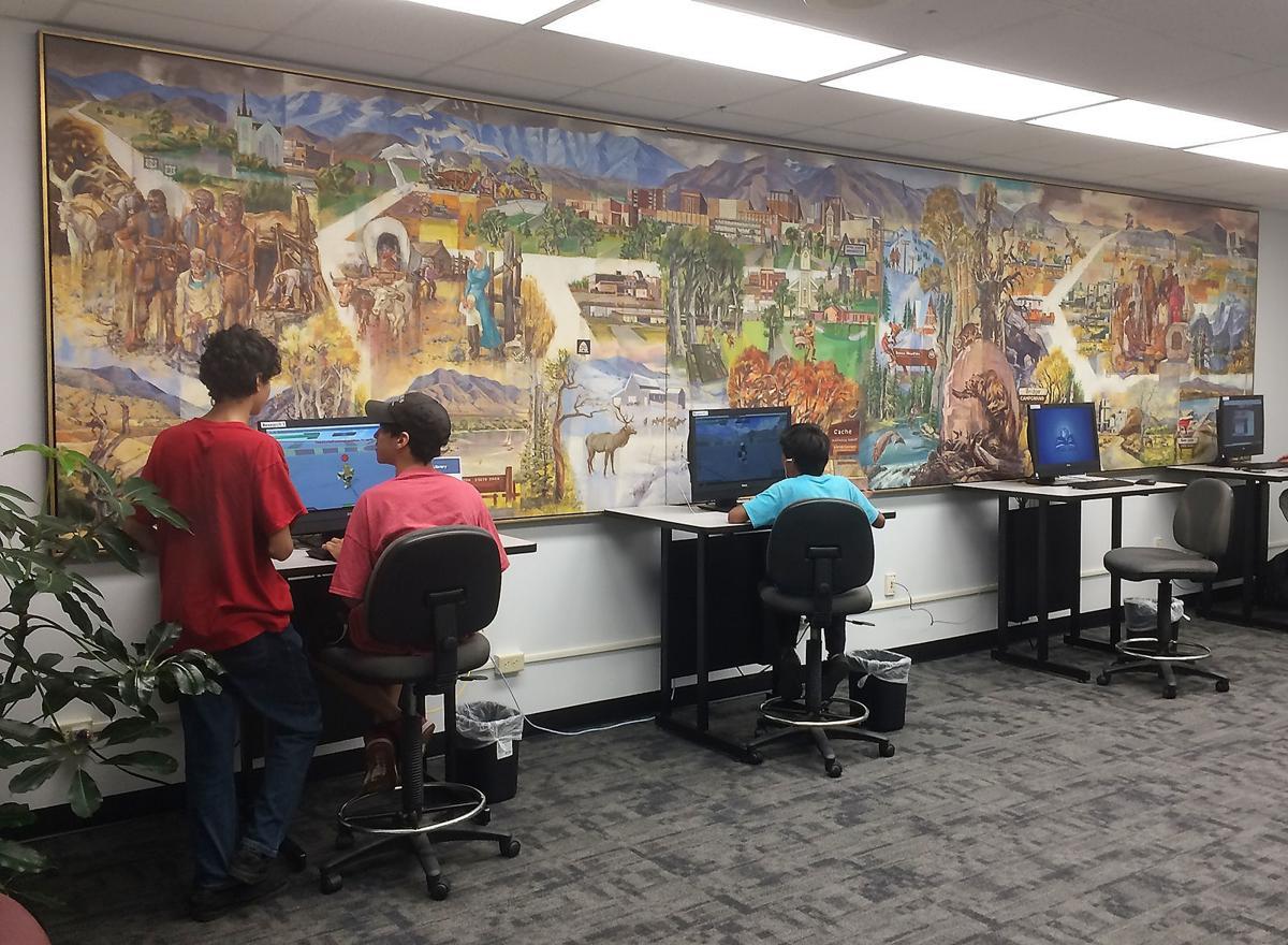 Library mural main