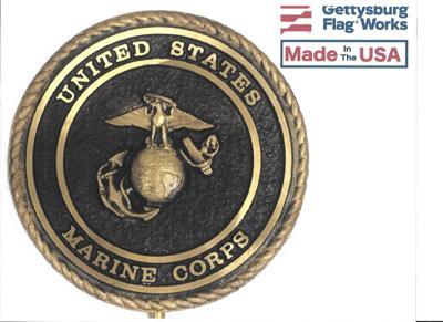 Marine Corp plaque