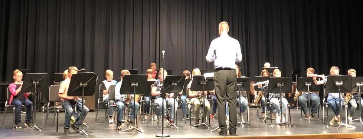 Cokeville 5th grade band