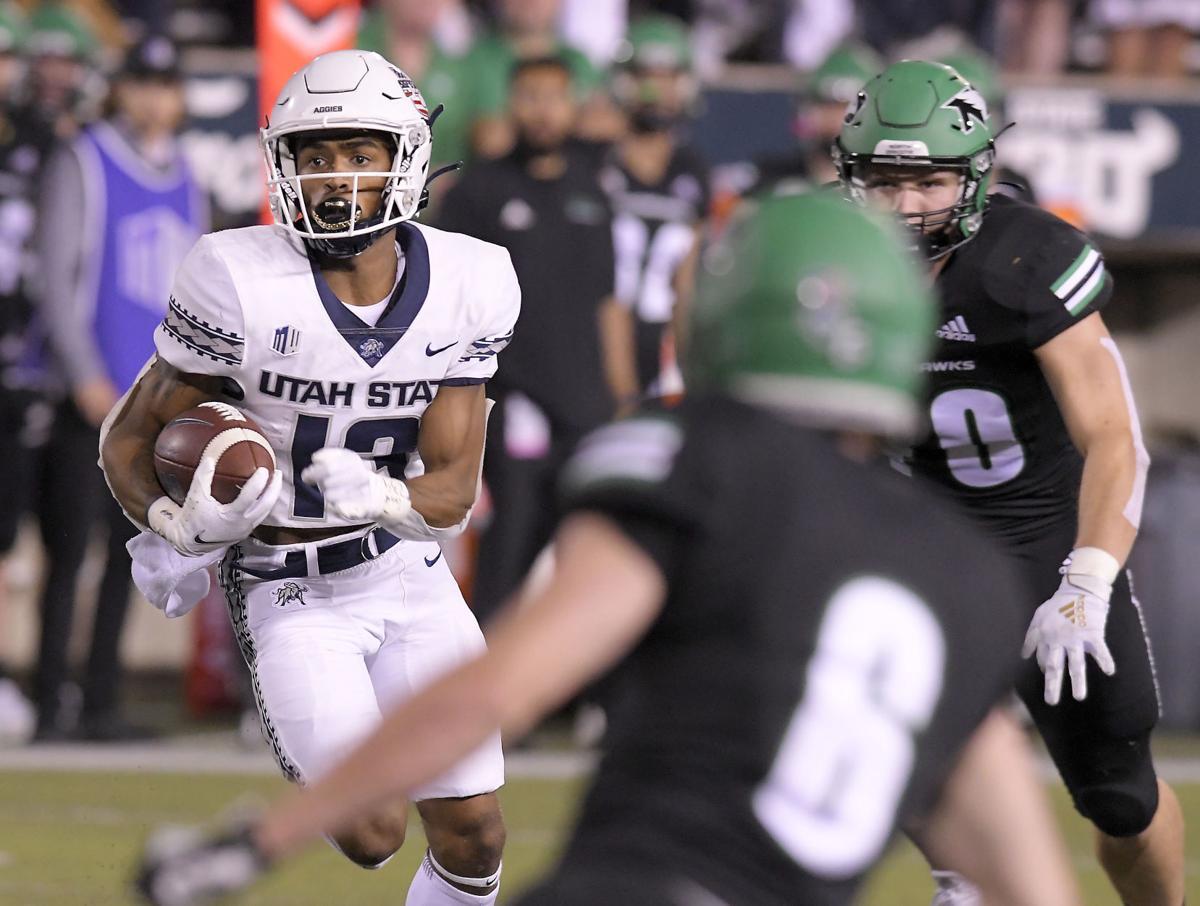 USU football: Aggies overcome bad start, storm past North Dakota