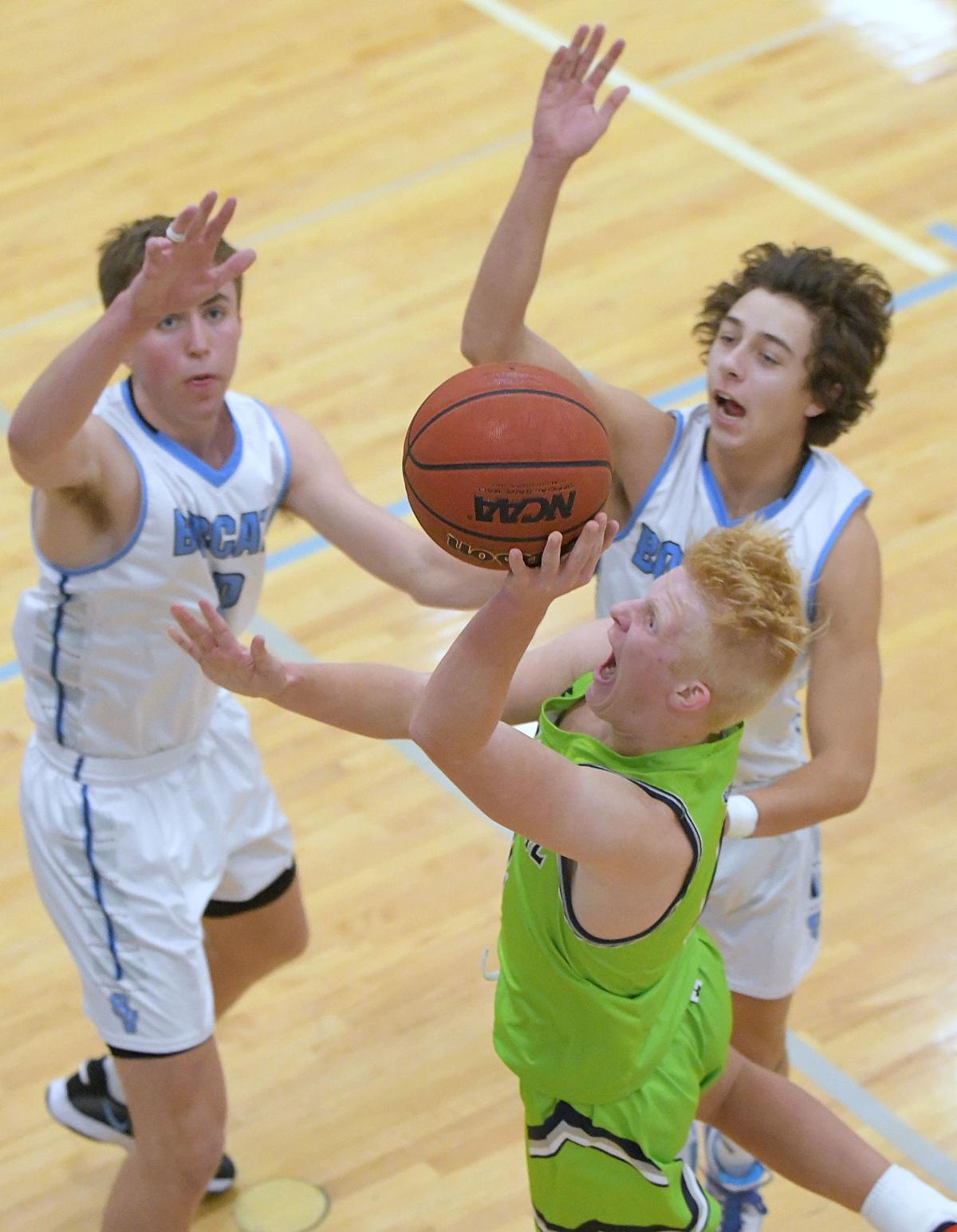 sky view ridgeline basketball