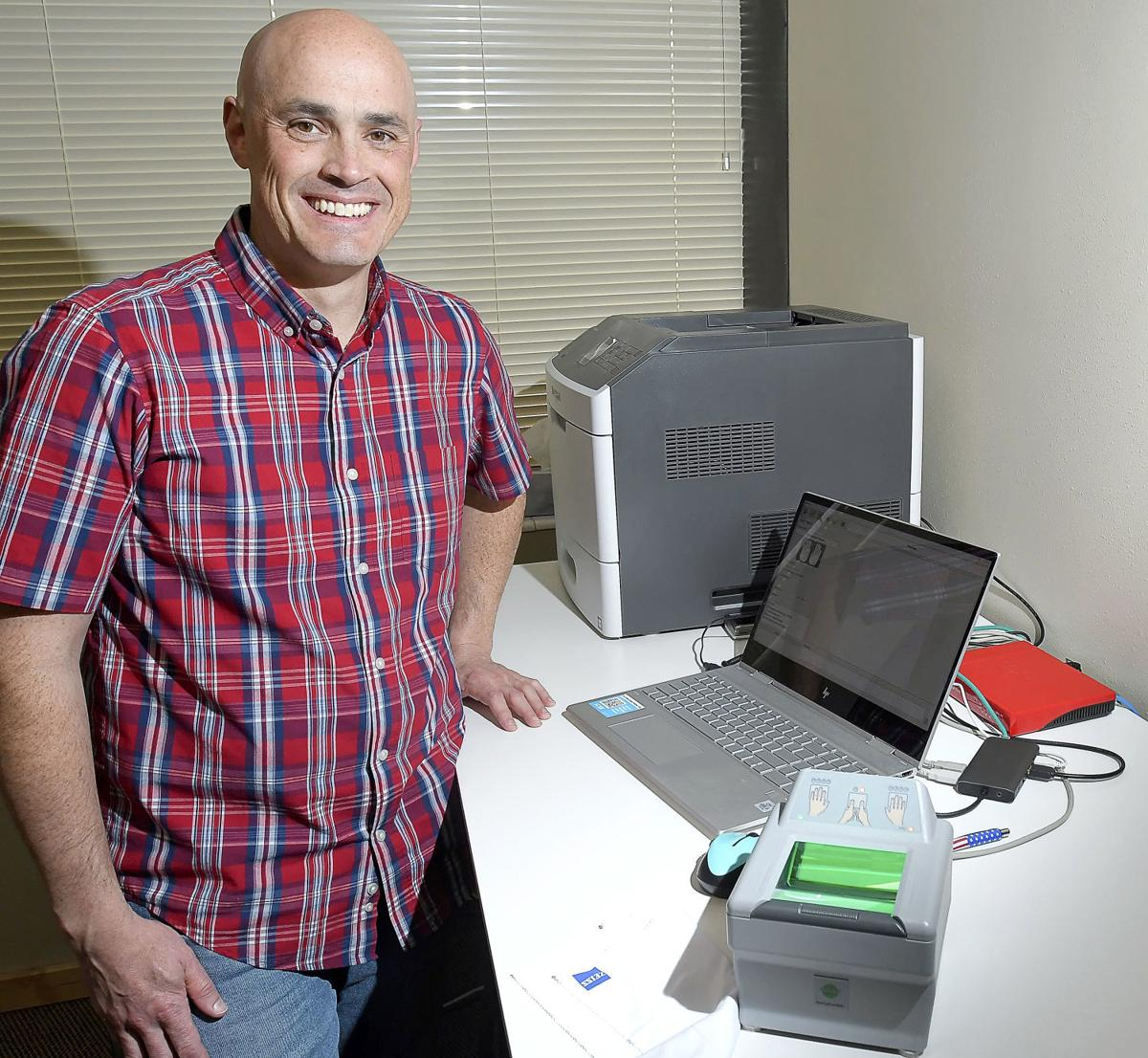 Retired deputy sheriff expands fingerprinting business to Logan