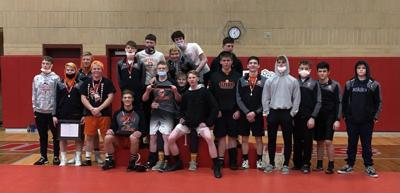 Wrestlers are Second at Regionals