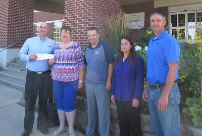Montpelier Foundation recieves check