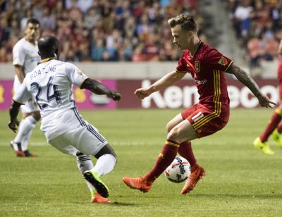 Galaxy Real Salt Lake Soccer