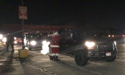 Drive by Santa