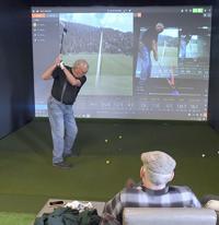 Local golf pro opens hi-tech indoor golf studio in Logan