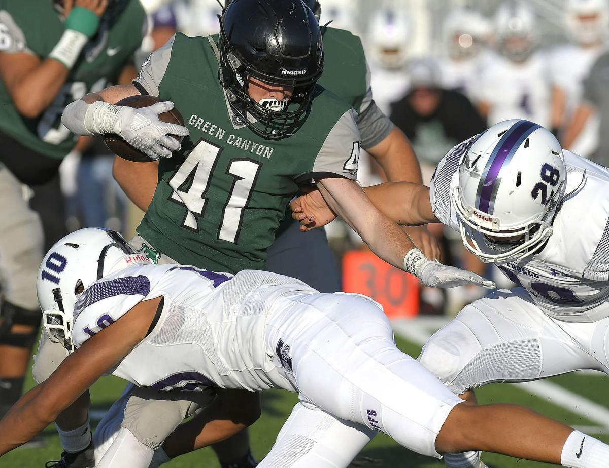 Wolves run game, defense dismantles Tooele