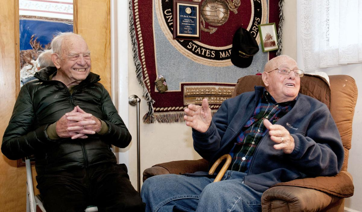 Fellowship of Fate: Cache Valley bids two Iwo Jima veterans farewell in one week