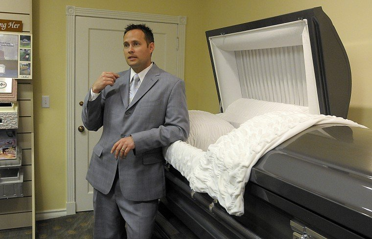 Dust to dust: Many would balk at embalming a body, but morticians ...