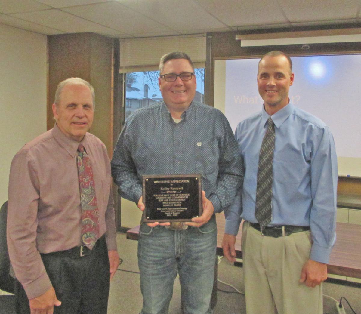 Bear Lake County School Board thanks Romrell