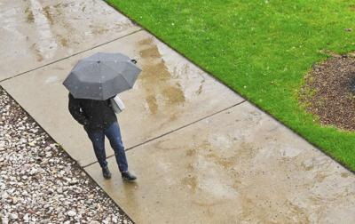 Walkin' in the rain