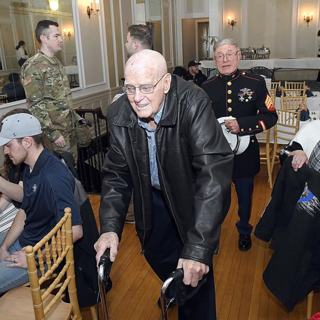 Veterans reflect on price of freedom 75 years after Iwo Jima