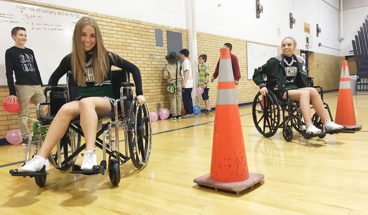 Wheelchair race 1