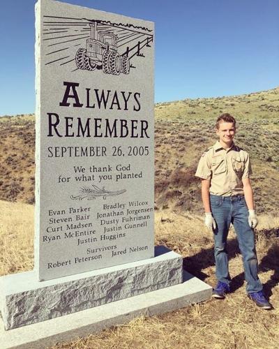 van crash memorial