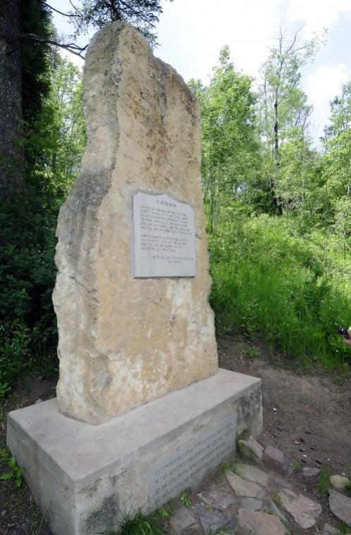 Old Ephraim's grave
